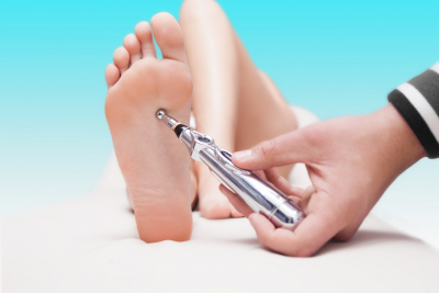 Laser acupuncture painless healing